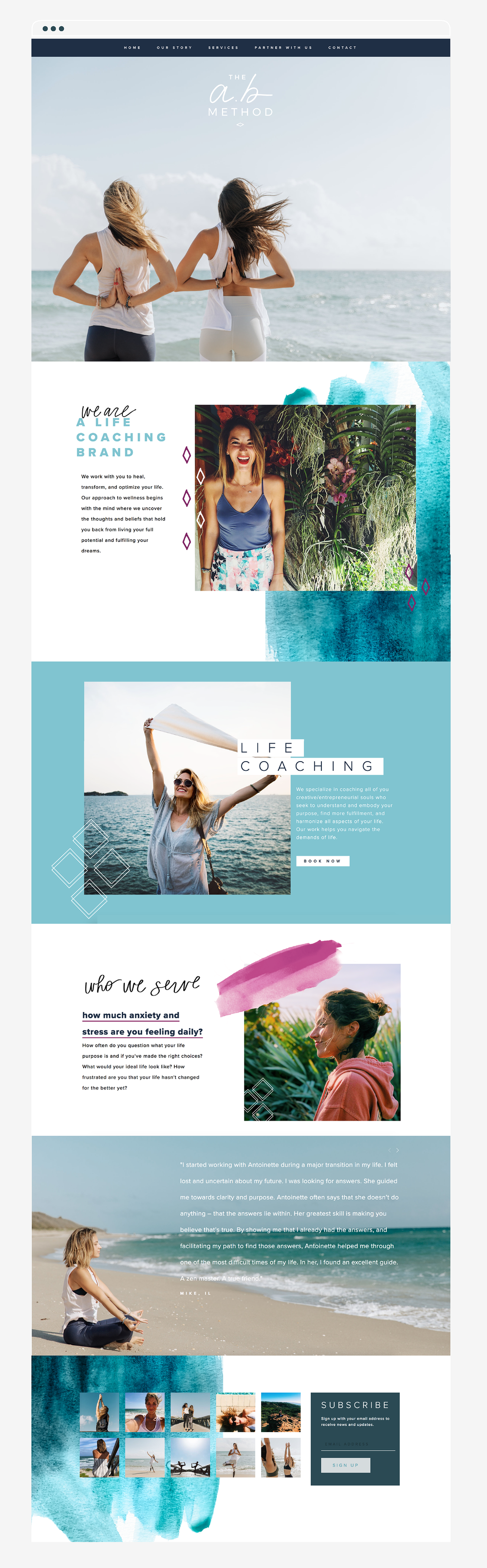 AbMethod_WebDesign_LifeCoach_Watercolor_Navy_Magenta_HOME2.png