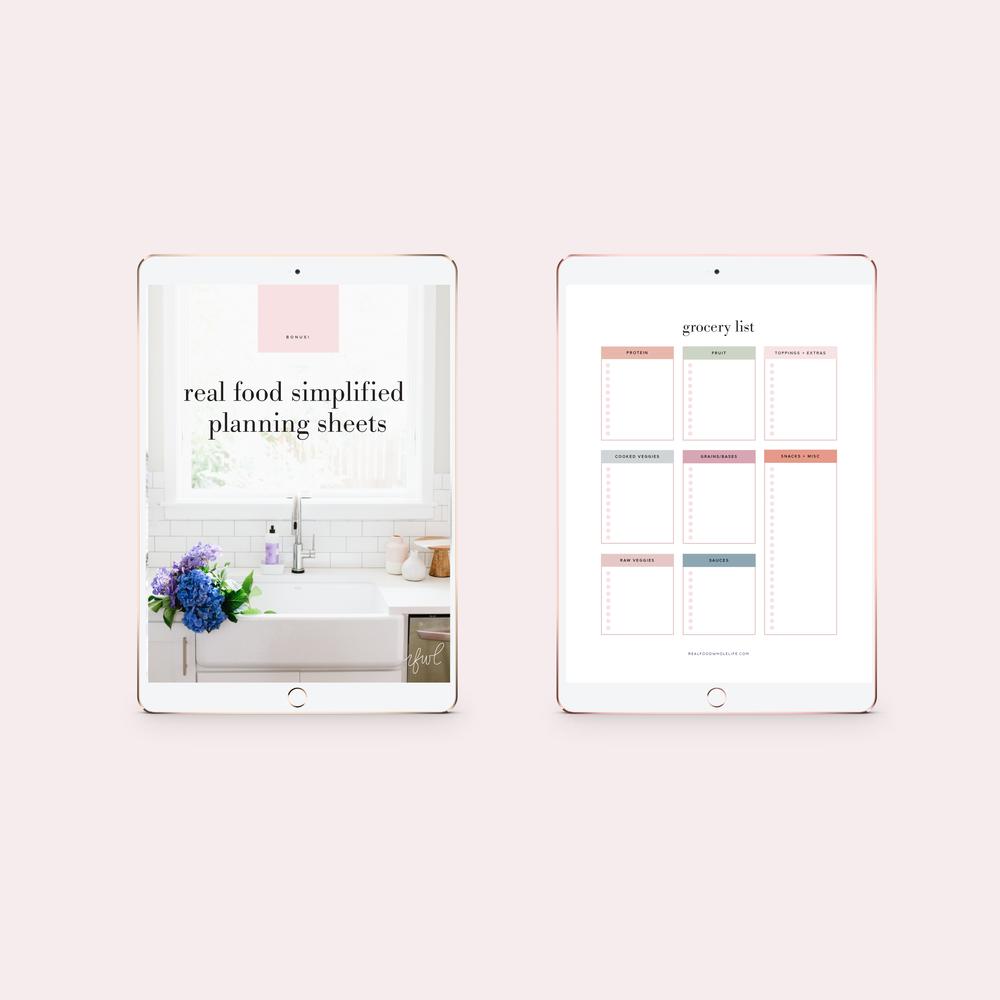 real+food+whole+life+ebook+design+digital+download+blogger+design+branding