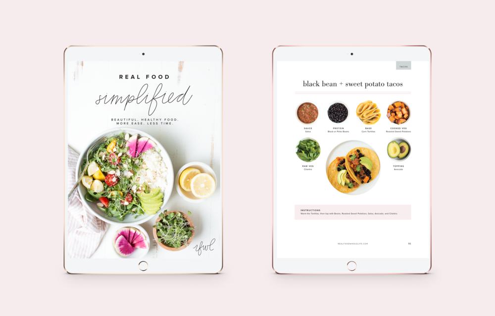 real+food+whole+life+ebook+design