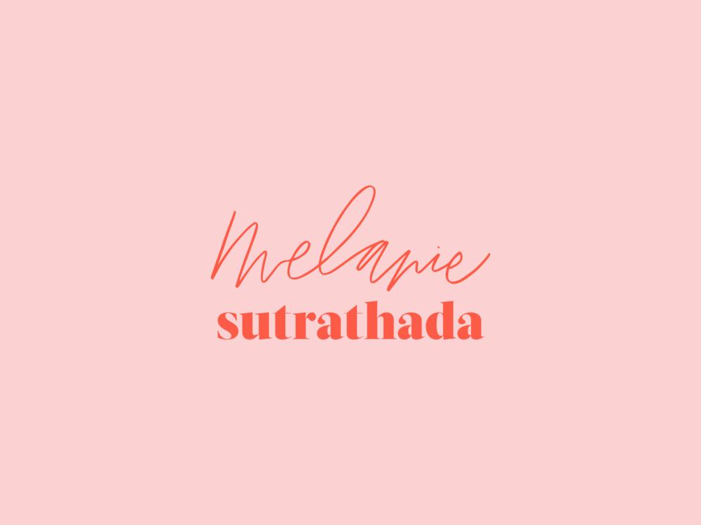 MelanieSutrathada+PrimaryLogo+blogger+influencer+pink+red+branding+girly+feminine+handlettering.png
