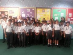 The Gandhi Experiment workshop at Tardeo, Universal School, Mumbai