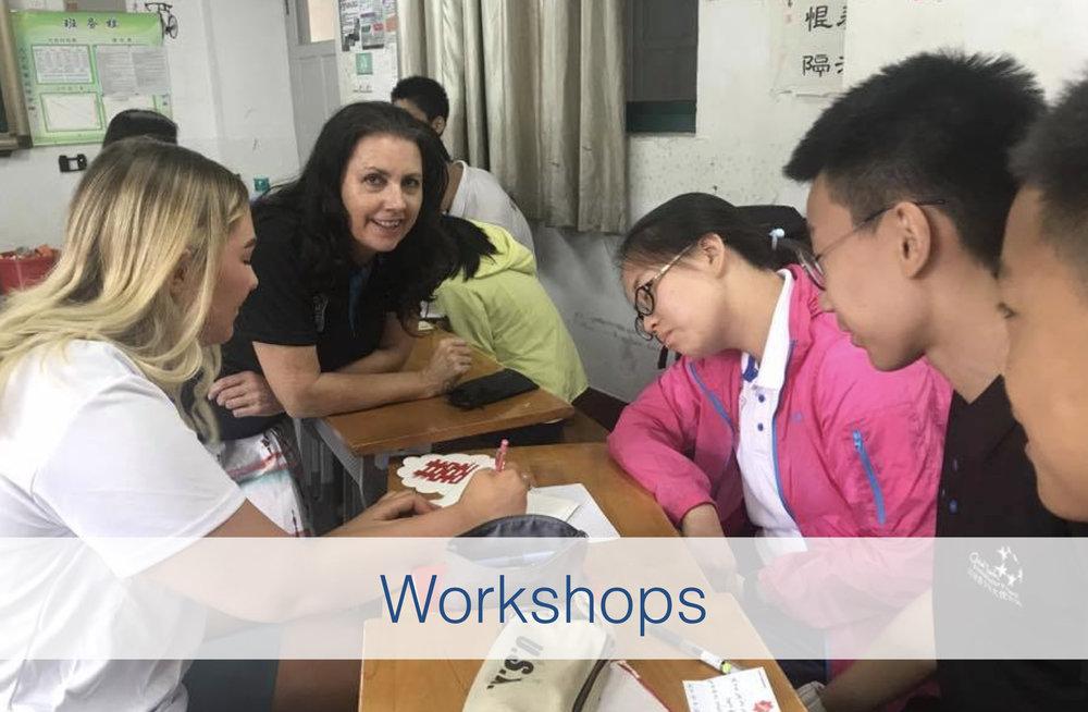 Margaret Hepworth Workshops