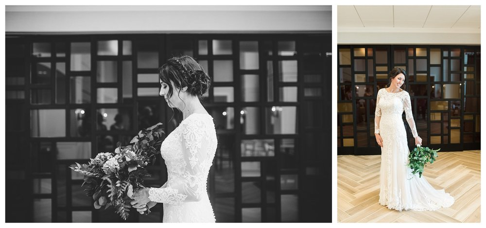 The stunning bride welled up with tears as I took these photos.