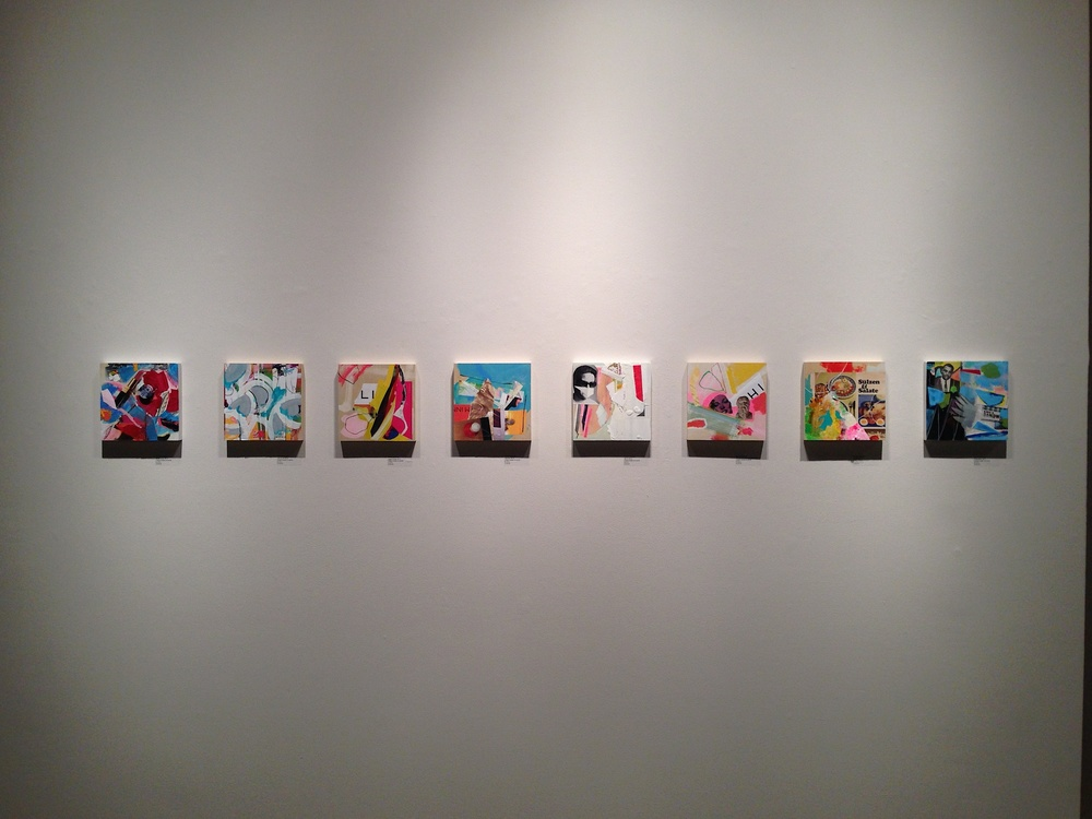 Studies (Installation view)