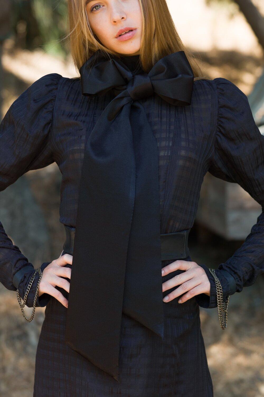 Melissa Fleis - Black Stay Edwardian dress1.jpg