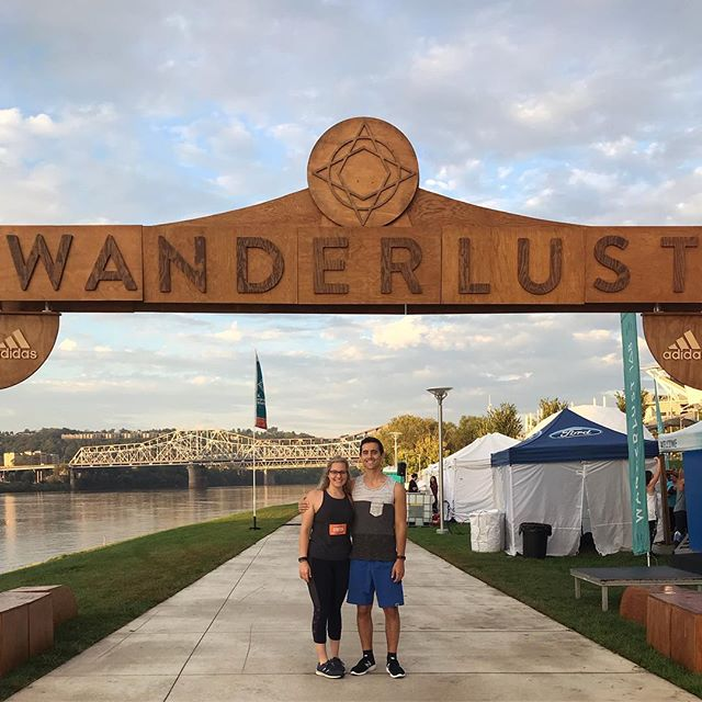 #wanderlust108 kicked our butts today in the best way. #mindfultriathalon #findyourtruenorth #cincinnati