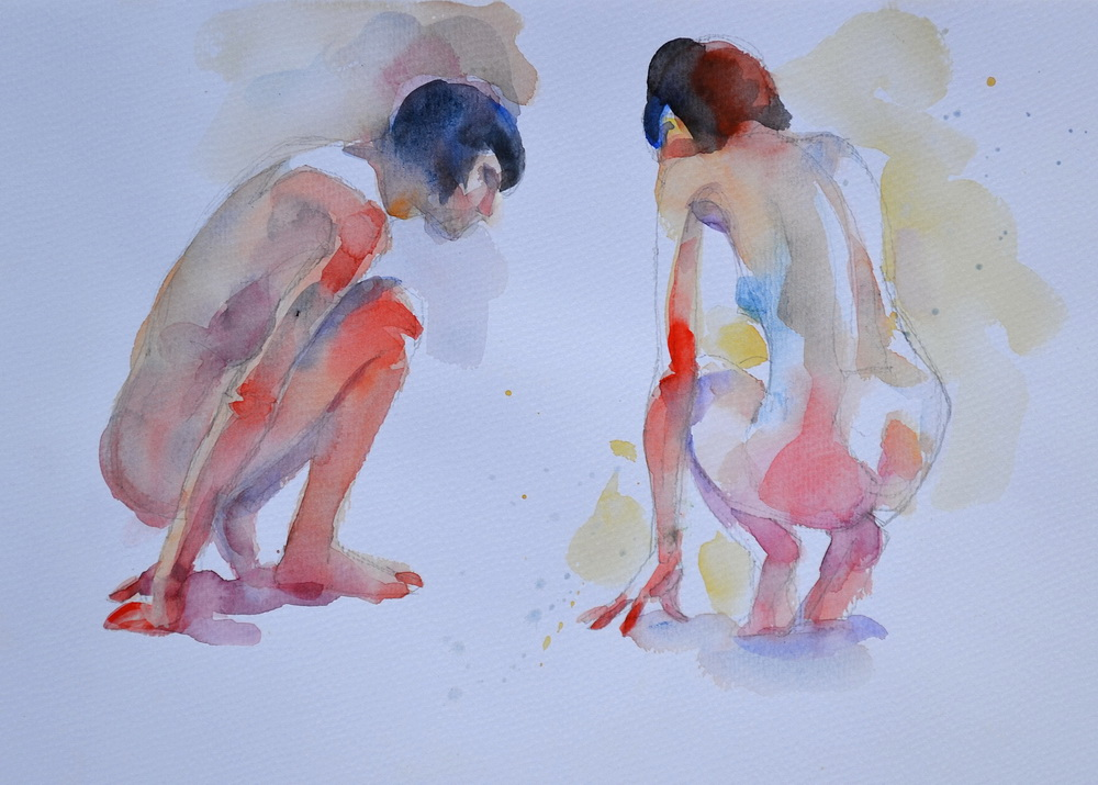 watercolor paint nudes.JPG