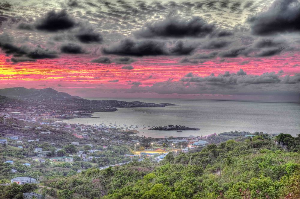 Christiansted Sunset