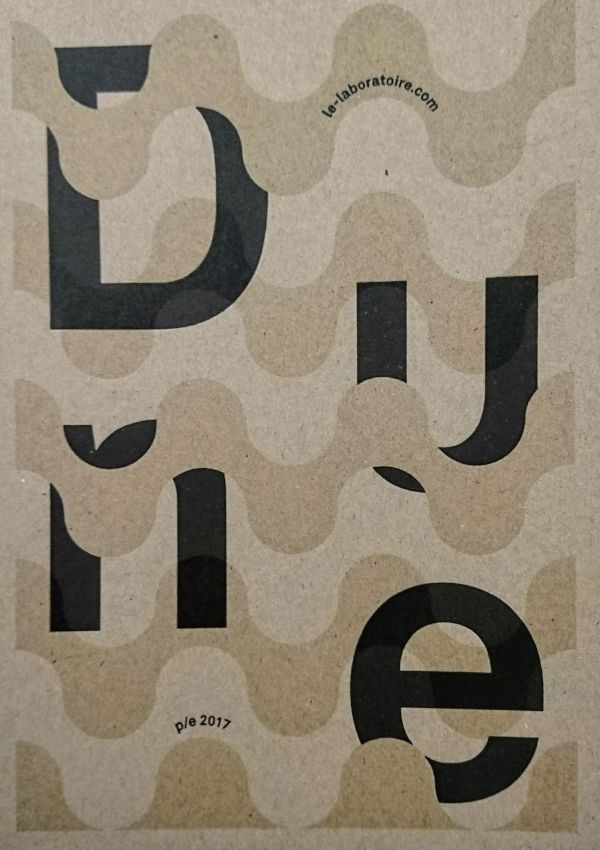 DUNE p/e 2017 Invitation Graphic Design : Happypets /Print : Atelier Typo de la Cité