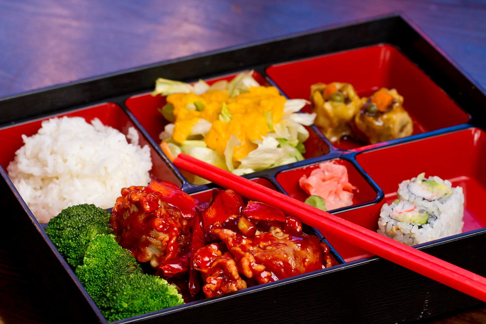 Bento Box – Jasmine Asian House, Collegeville, PA