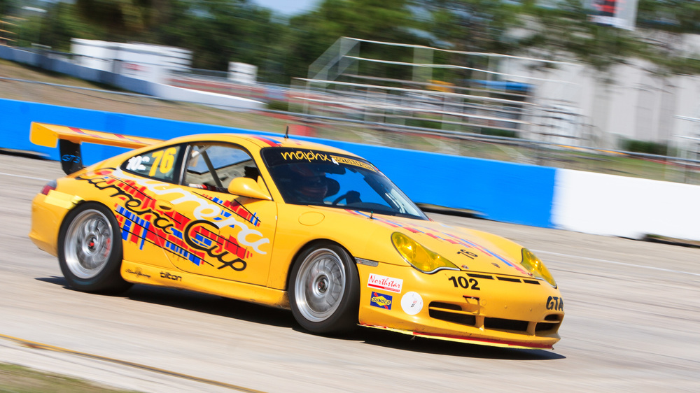 Porsche 911 GT3 – Sebring International Raceway, Florida