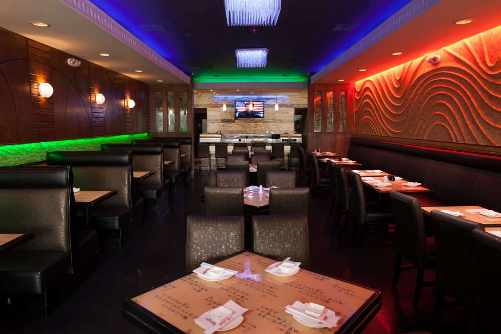 Interior View of Oki Sushi – Lansdale, PA