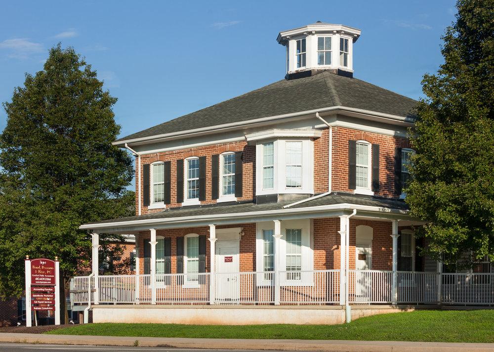 Exterior View of Bond, Pezzano & Etze Building – Collegeville, PA