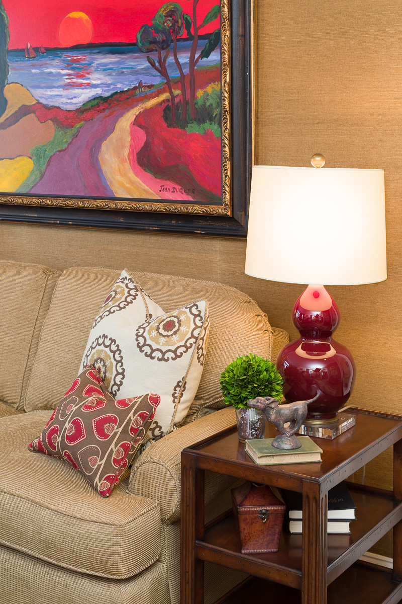 Closeup View | Marilyn Lusch Interiors -  luschinteriors.com