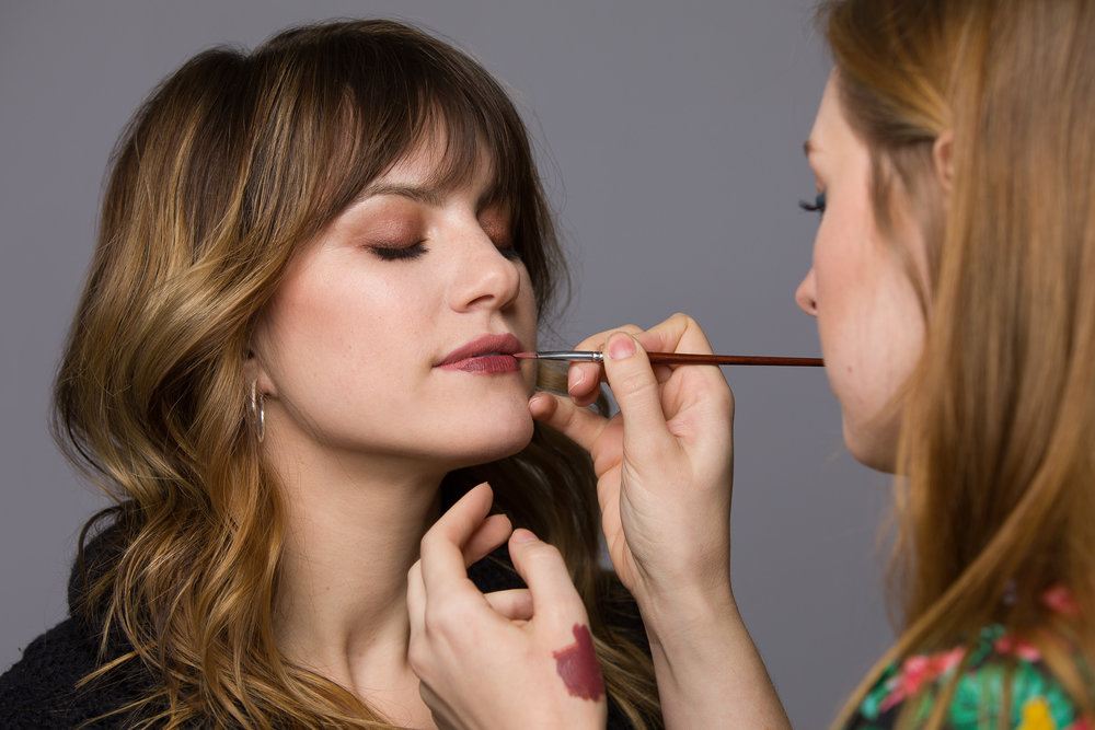 Makeup by  Maurie Davidson
