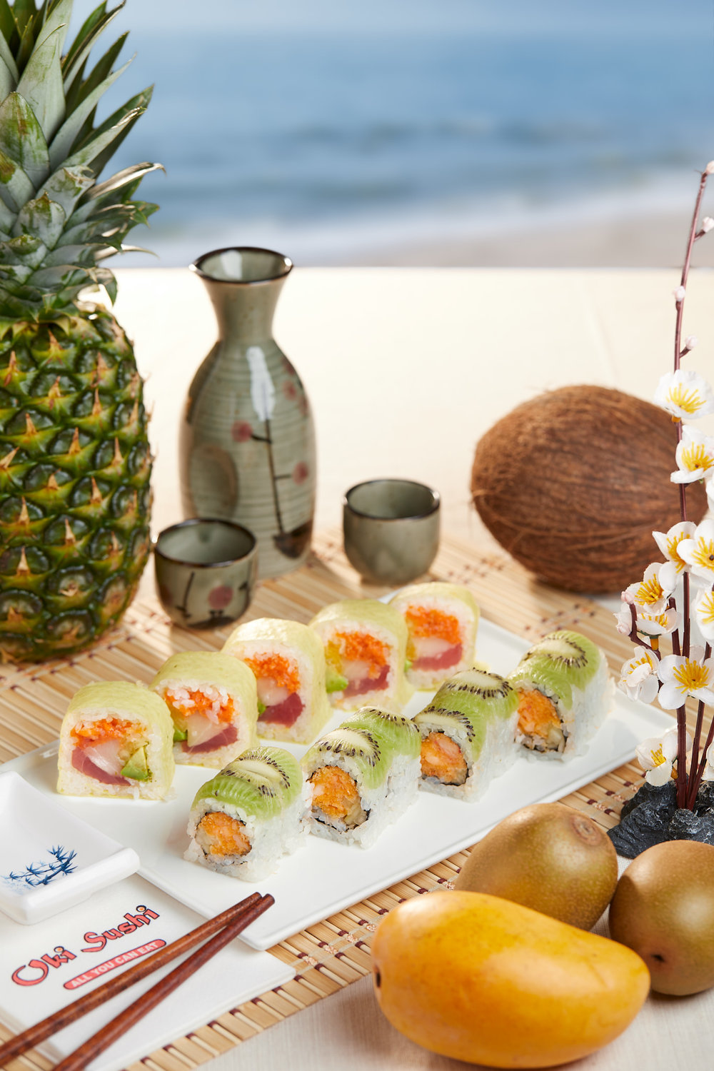 Summer Ad for Oki Sushi – Lansdale, PA
