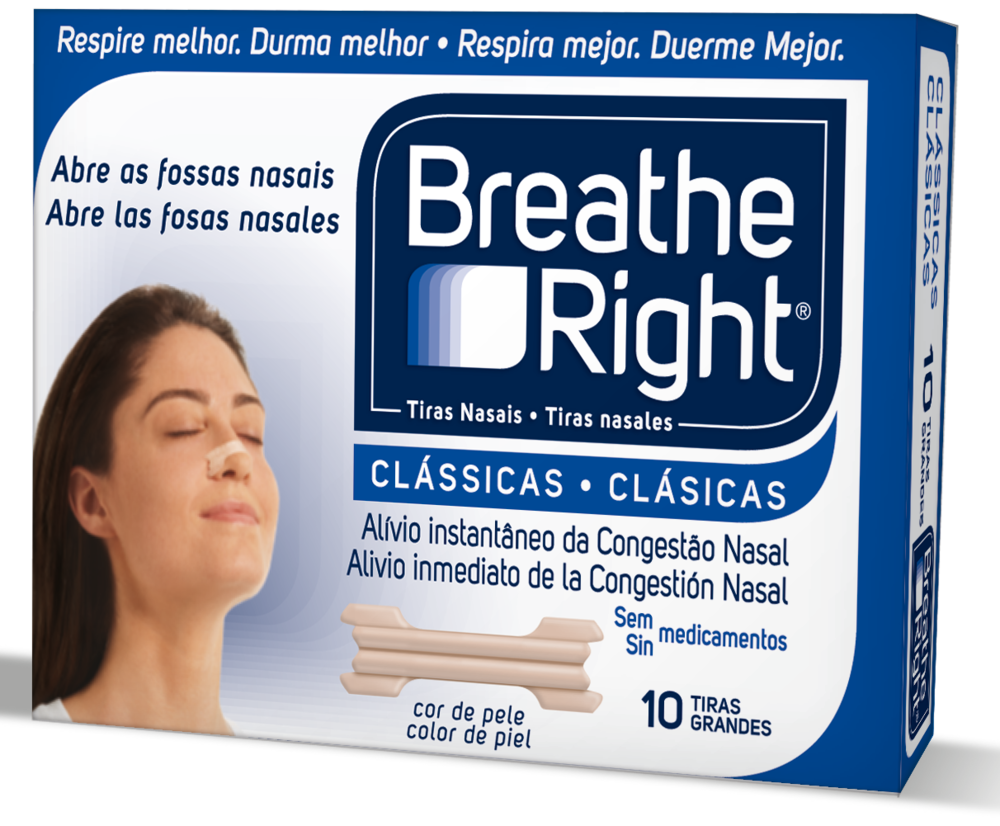 *Breathe Right* Clasicas
