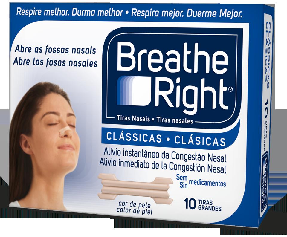 BREATHE RIGHT CLASSICAS