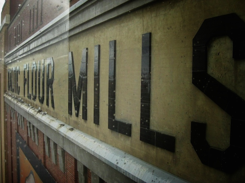 Baltic Mills Sign by Matt Brown via Flickr (CC BY 2.0)