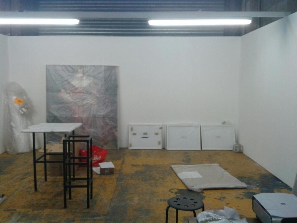 On site at Manchester Contemporary and ready to install via The International 3 on Twitter