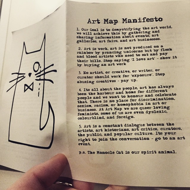 Image from Art Map London on Instagram