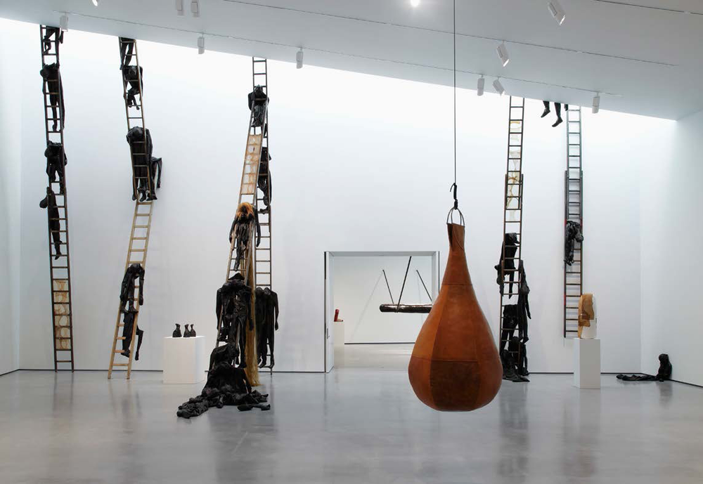 Alexandra Bircken, Hepworth Gallery Wakefield, 2014. Image courtesy of Herald Street gallery, London