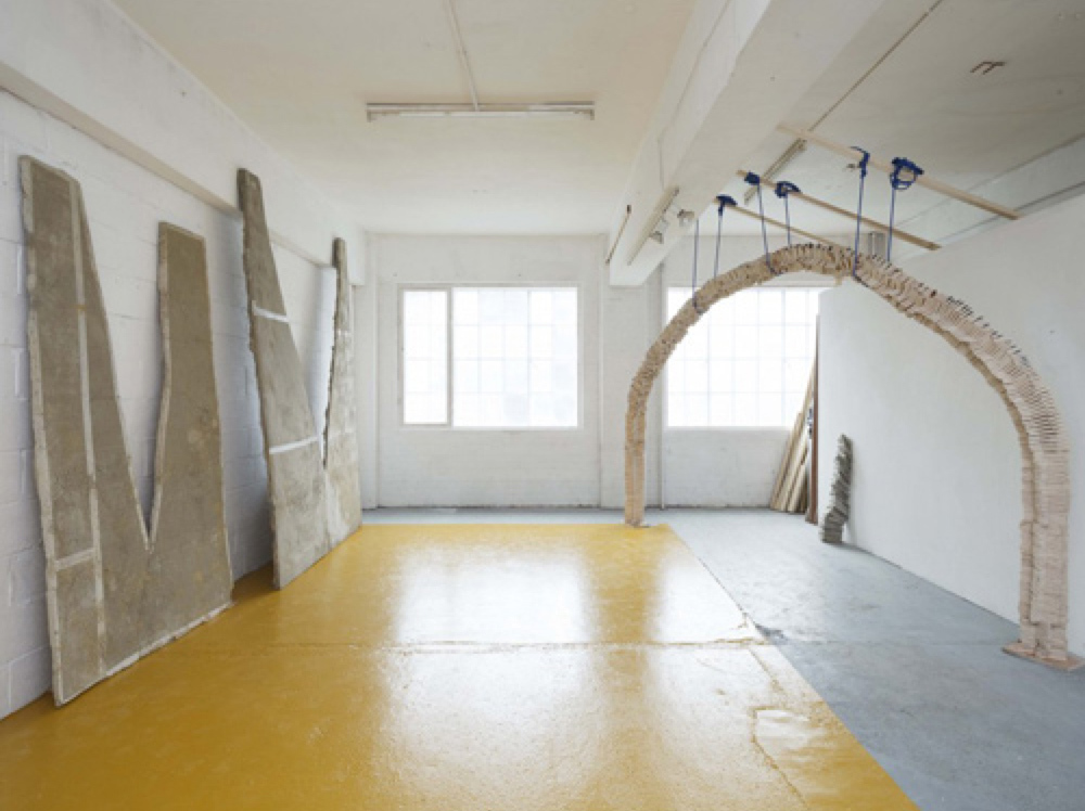 Studio 4 at Chisenhale Studios, where Futures artists will be based in 2017. Credit: Tessa Whitehead, Studio4 Installation, 2015