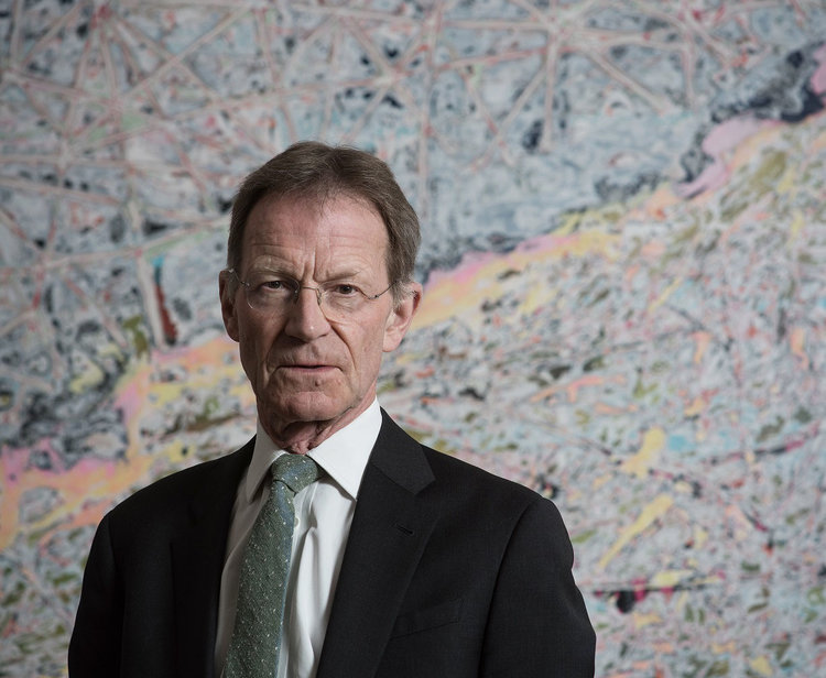 SIR NICHOLAS SEROTA. PHOTO CREDIT: HUGO GLENDINNING 2016.