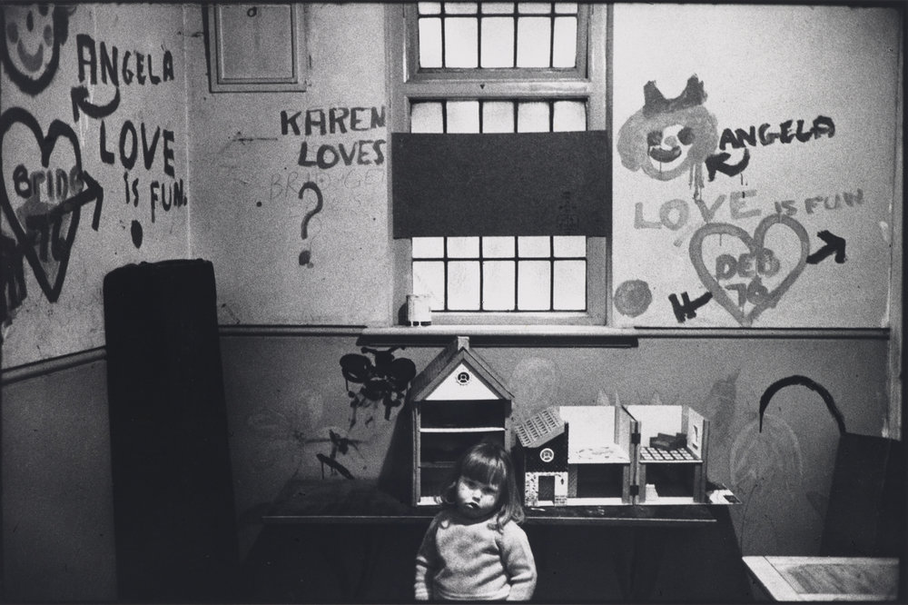 Marketa Luskacova, Child in Chiswick Womens Aid, London, 1976 (1976). Arts Council Collection, Southbank Centre, London © Marketa Luskacova. Courtesy of YSP