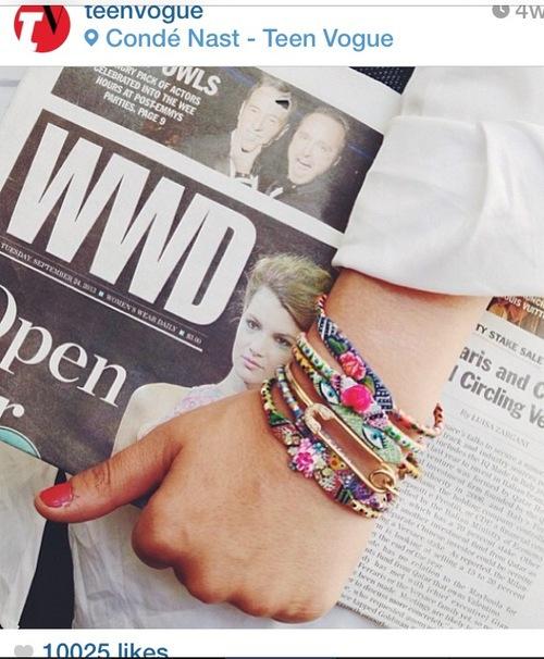 Instagram from Teen Vogue. September 2013