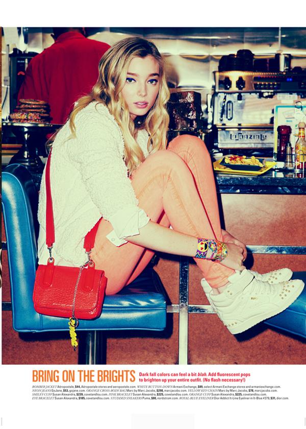 Susan Alexandra in Seventeen Magazine August 2014