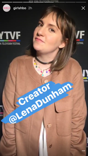 Lena Dunham in the Lollipop Guild choker