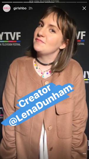 Lena Dunham in the Lollipop Guild choker
