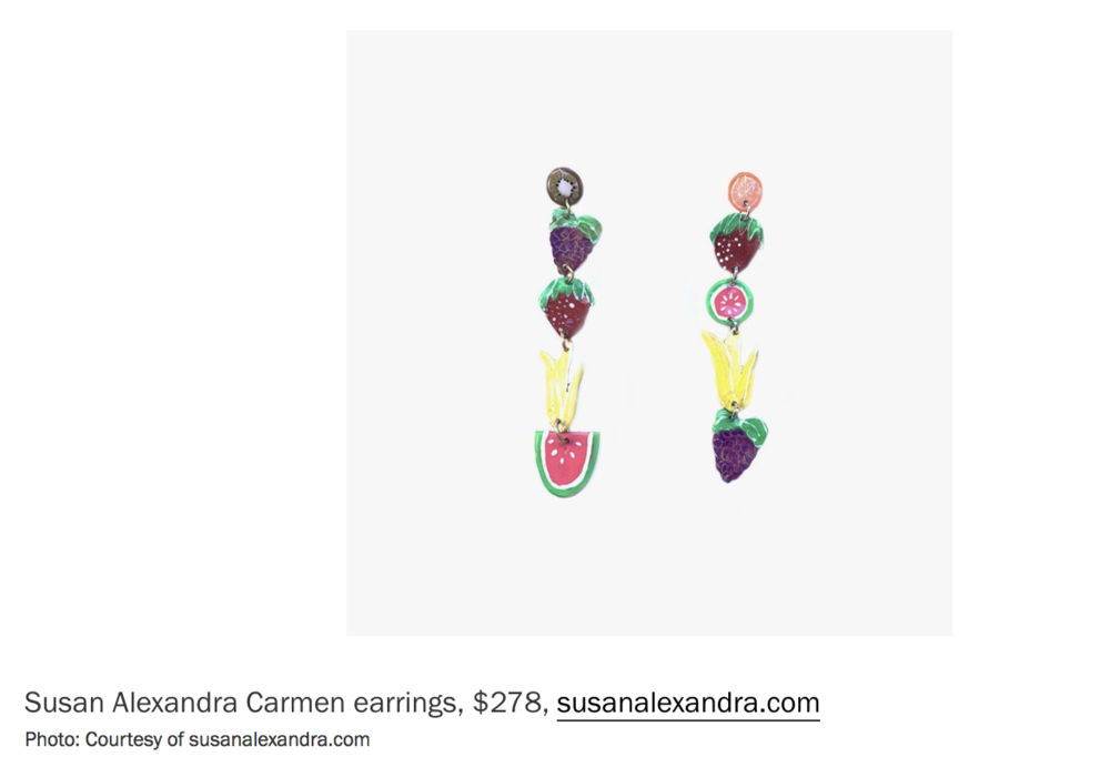 Susan Alexandra in Vogue: 18 Summer Baubles That Will Make You Feel Like a Kid Again