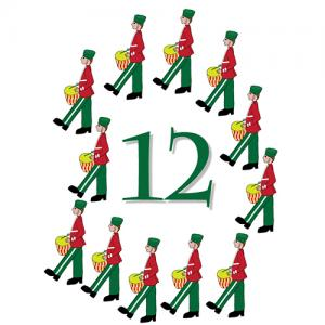 Origin Of 12 Days Of Christmas.On The 12th Day Of Christmas Parting Is Such Sweet Sorrow