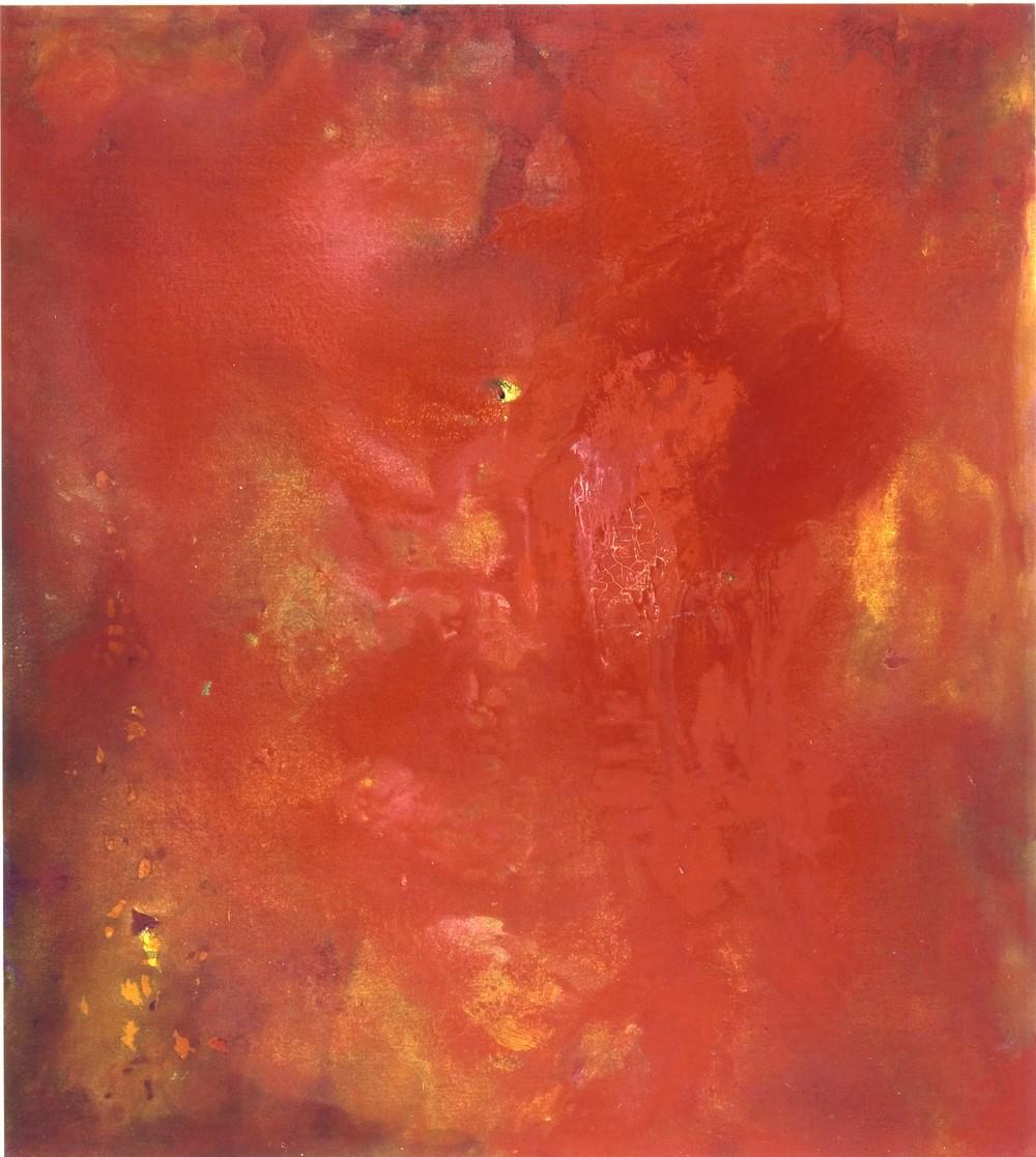 2005, Roma, Archivio Bendini, 3 luglio, tempera acrilica e polveri d'oro, cm 200 x 180.jpg