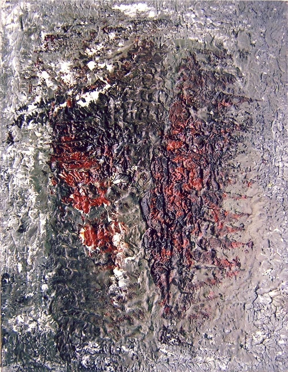 18 maggio, 1957, olio su tela, cm 65 x 50  18 maggio, 1957, oil on canvas, cm 65 x 50