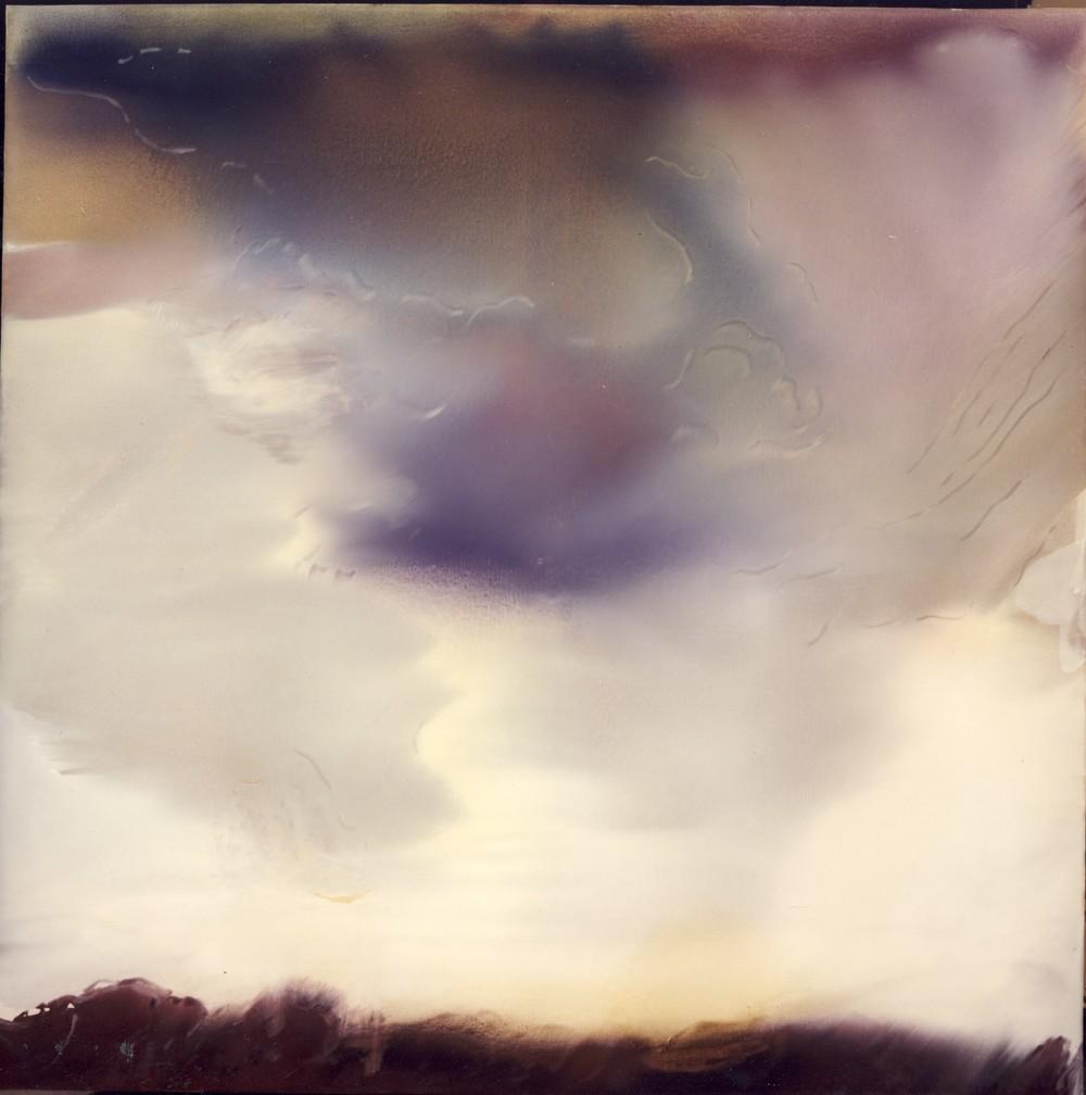 La ballata dei dieci cieli - decimo elemento, 1983,olio su tela, cm 190 x 190  La ballata dei dieci cieli - decimo elemento, 1983,oil on canvas, cm 190 x 190