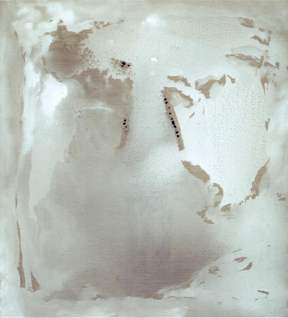 9 febbraio, 2004, tempera acrilica su tela, cm 200 x 180,  9 febbraio, 2004, acrylic tempera on canvas, cm 200 x 180