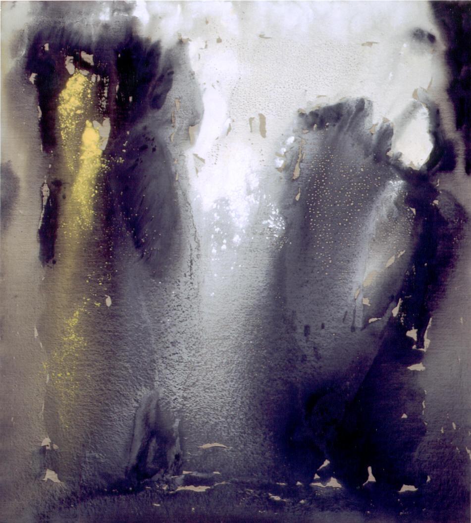 Silenzio di luce, 2004, tempera acrilica su tela, cm 200 x 180  Silenzio di luce, 2004, acrylic tempera on canvas, cm 200 x 180