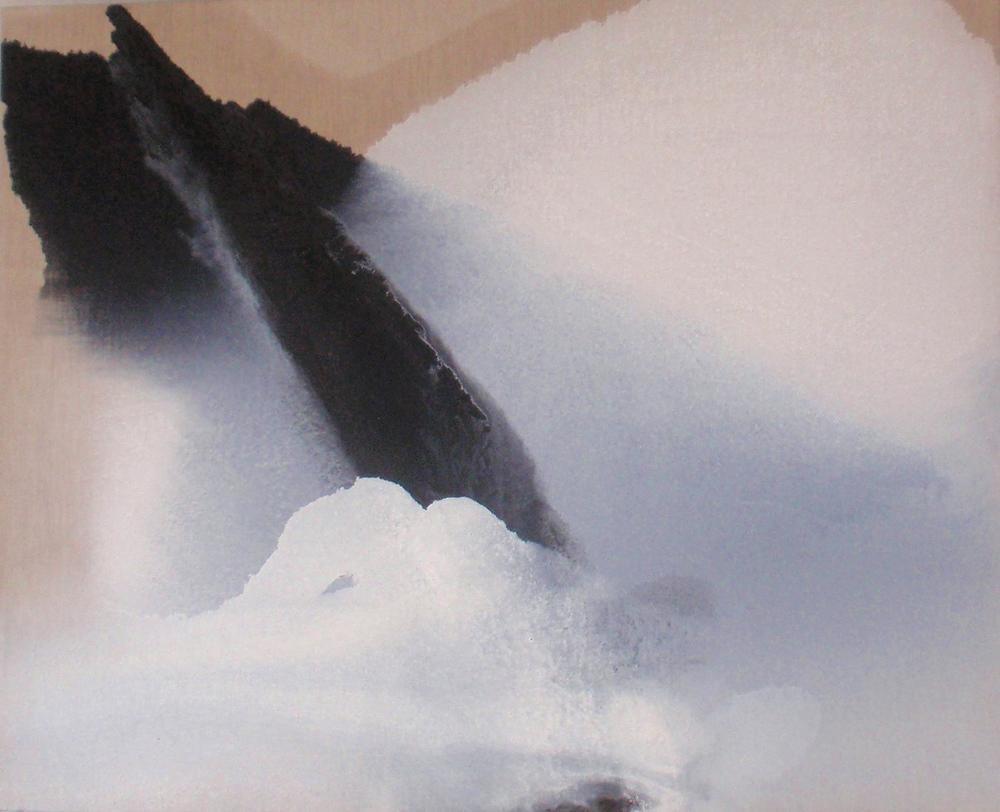 10 gennaio, 2012, olio su tela, 90 x 110  10 gennaio, 2012, oil on canvas, 90 x 110