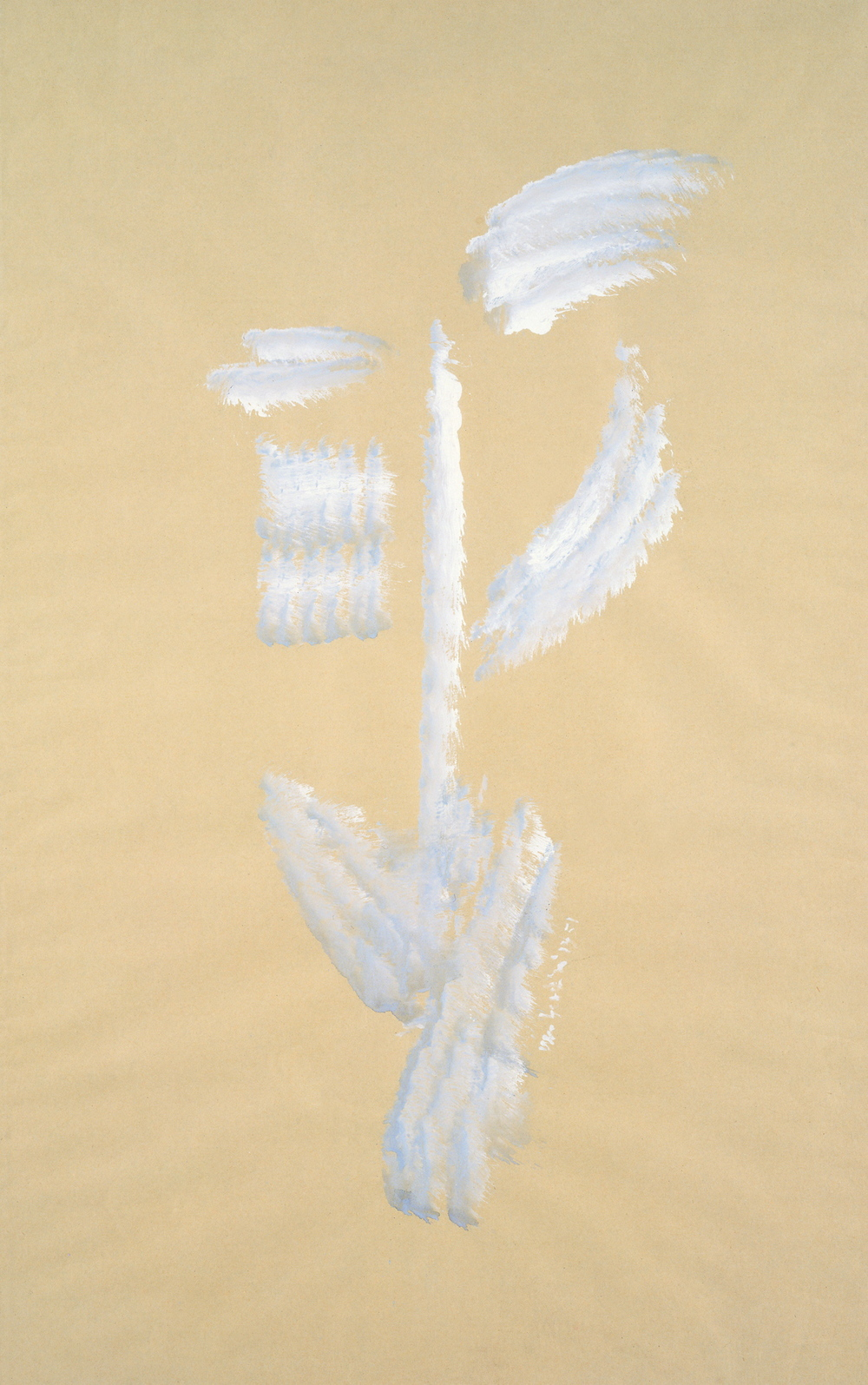 senza titolo, 1951, tempera su carta, cm 78,5 x 49  untitled, 1951, tempera on paper, cm 78,5 x 49