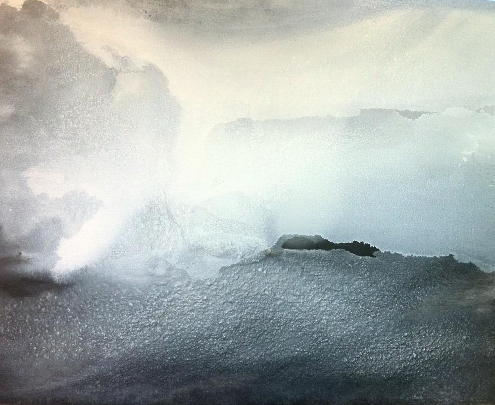2013, Roma, Archivio Vasco Bendini,10 agosto, olio su tela, cm 90 x 110.JPG