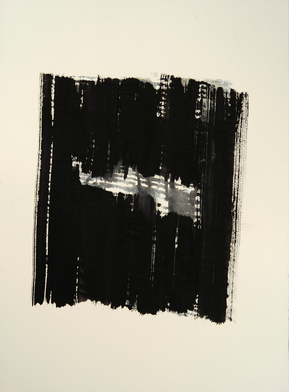"senza titolo, dalla serie ""13 carte Fabriano"", 1991, acrilico su carta Fabriano, cm 76 x 57  untitled, from the series ""13 carte Fabriano"", 1991, acrylic on Fabriano paper, cm 76 x 57"