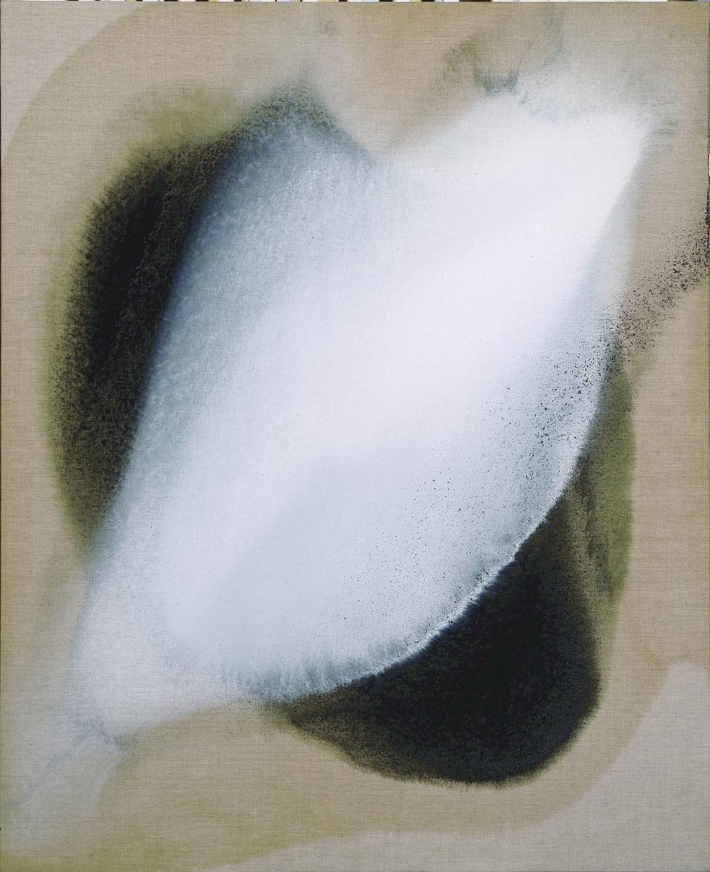 Le murmure du munde,2008, olio su tela, cm 110 x 90  Le murmure du munde,2008,oil on canvas, cm 110 x 90