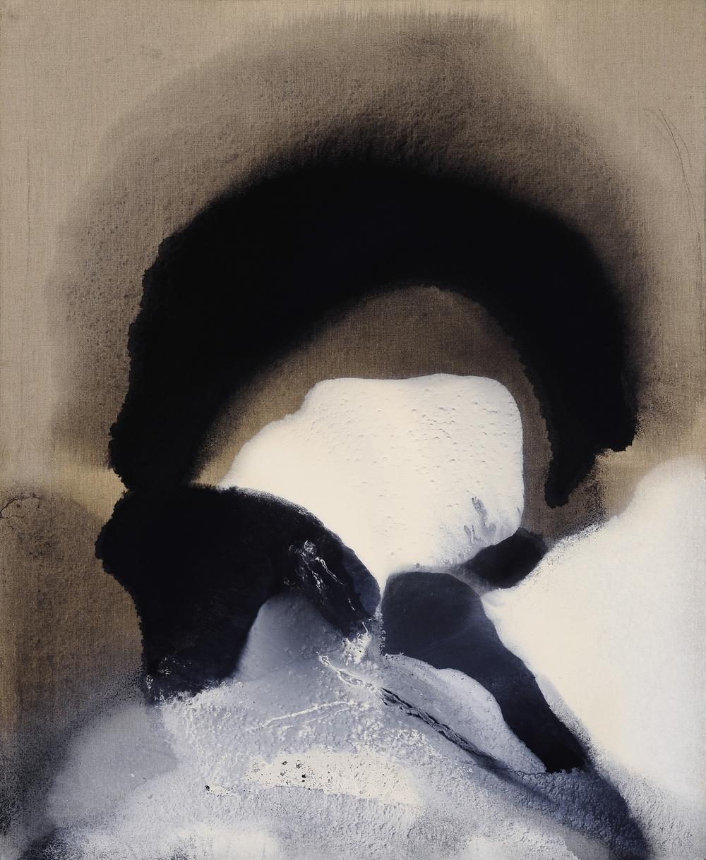 Malinconia della notte,2011, olio su tela, cm 110 x 90  Malinconia della notte, 2011, oil on canvas, cm 110 x 90