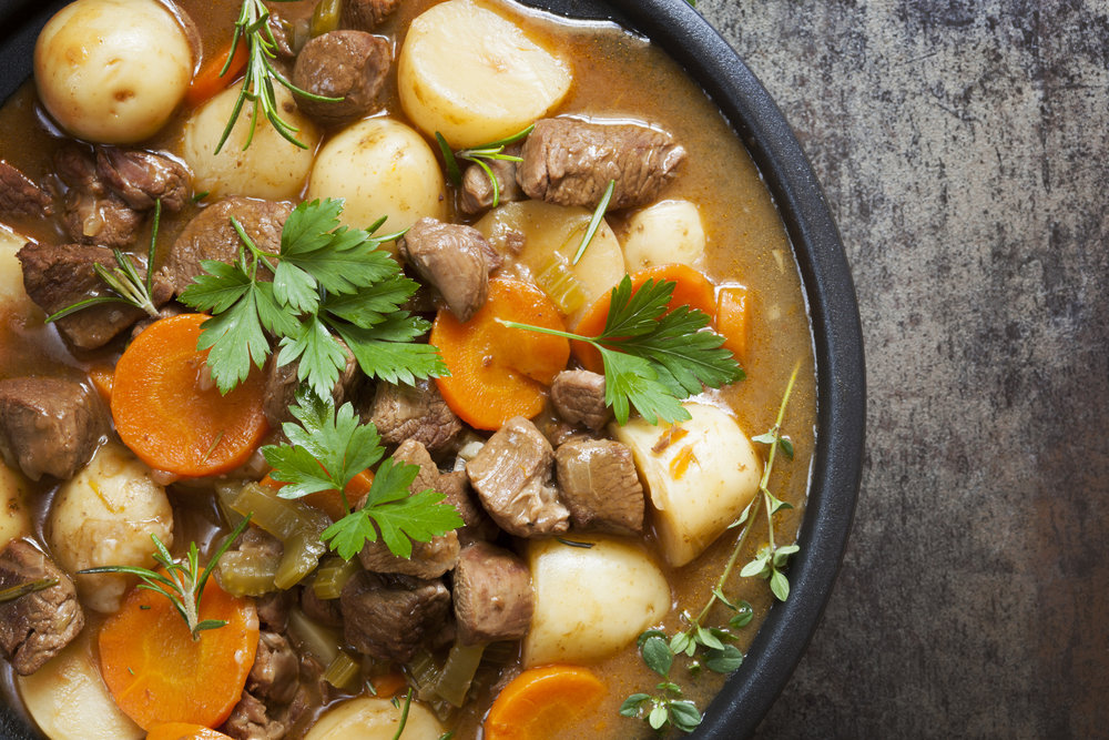 Today we're interested in traditional Irish fare.
