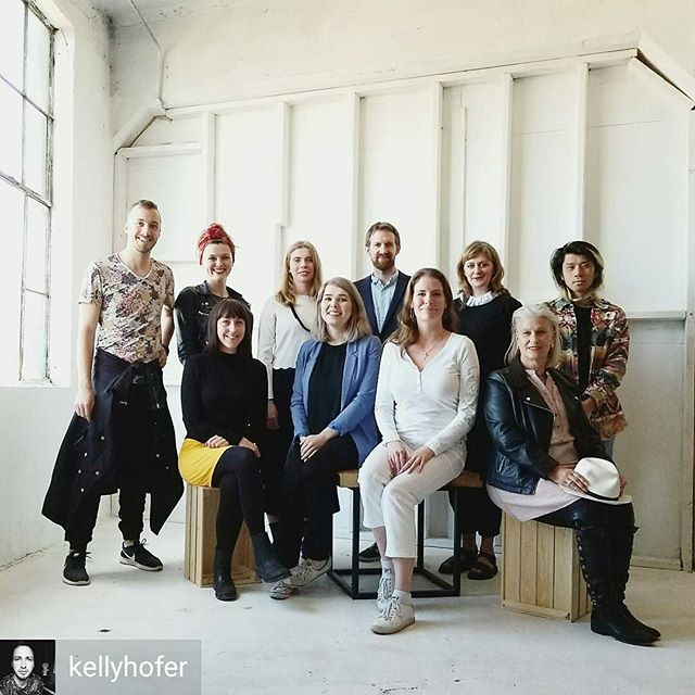 from @kellyhofer -  What a gratifying and fun experience this was. Teaching fashion designers how to work with technology, programming, mechanical design and sewing. A @makefashionca workshop with @larosecatherine and @diannegibsongirl at the @chocofactorydublin . A few of the designers couldn't make it for the day we shoot this photo.  Thank you @ellenbyrne and Vince for bringing us over. This was amazing!  #fashiontech #wearabletech #workshop #design #Dublin @scienceireland #creativeireland - #regrann