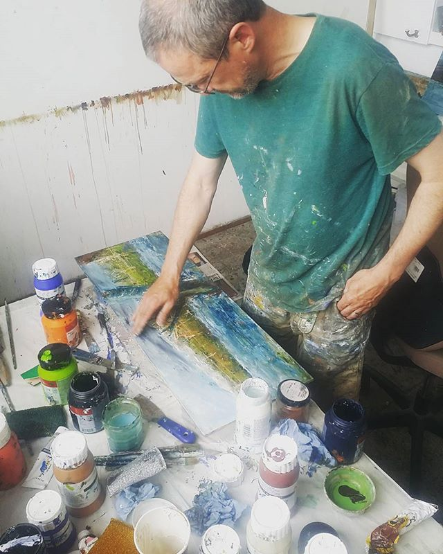 #instudio nice to have #conorgallagher back from #Denmark  #irishart #irishdesign #artists #dublin
