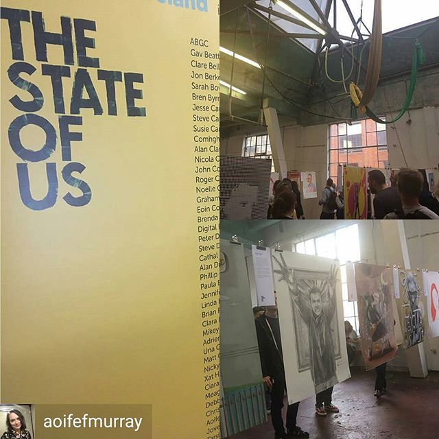@Regrann from @aoifefmurray -  Congrats to all #thestateofus 👏🏼👏🏼👏🏼👏🏼 @chocofactorydublin - #regrann